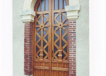 Menuiserie Extérieure - porte d'entrée